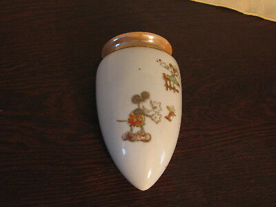 Vintage Mickey Mouse Wall pocket Sconce Mickey Mouse corp. Walt E. Disney Japan