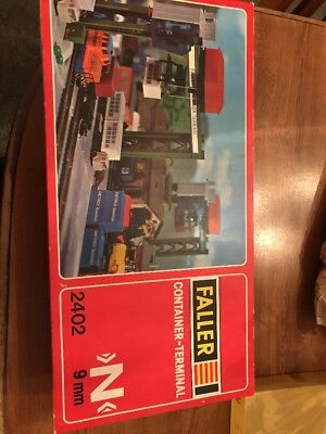 N scale Faller Container-Terminal
