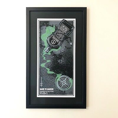 Sold out Marilyn Manson tour Poster ***Artist Signed***