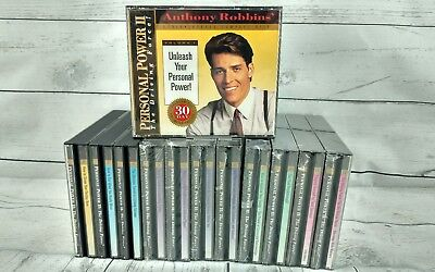 Anthony Robbins Personal Power II 2 Driving Force 12 Volume 25 CD Set