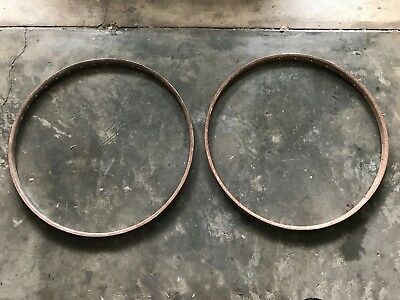 "Vintage 28 x 1 1/4"" Bicycle Rims"