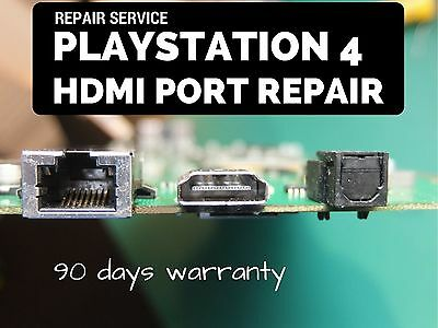 Playstation 4 HDMI Port Replacement Repair – send us PS4 PCB only - MANCHESTER