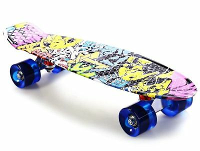 New Long Skate Board 22 Inches Four Wheel Street Adult Children Outdoor Sport C