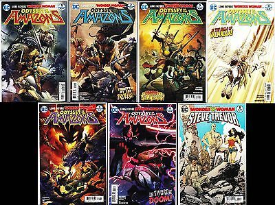 Odyssey of the Amazons #1-6-Steve Trevor Special-Variant-First Prints