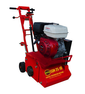 EGM 10 In. Scarifier Machine Honda GX 270-9 HP Powered Concrete Surface Planer