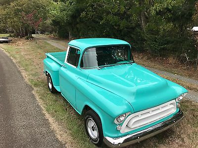 1957 Chevrolet Other Pickups  1957 Chevy Task Force Pick Up Truck, Fame Off Restoration, 350 Crate Motor