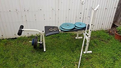Home gym and weights
