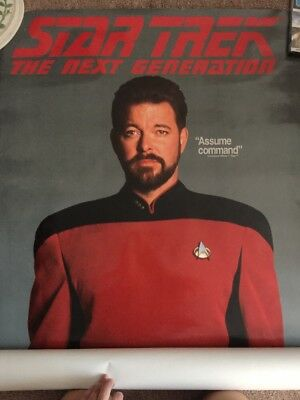 Star Trek Next Generation William Riker Life Size Poster