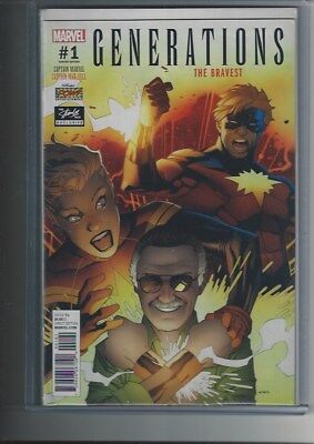 Generations:captain Marvel-Captain Mar-Vell #1 Stan Lee Box Variant Cover