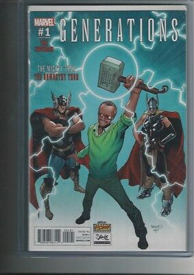 Generations:the Mighty Thor-The Unworthy Thor  #1 Stan Lee Box Variant Cover