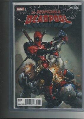 The Despicable Deadpool #287 1:25 Variant Cover