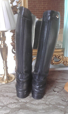 Leather riding Top boots