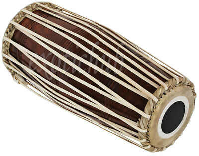 Mridanga Drum~Mrigangam~Dholak~Dholki~Shesham Wood~North Indian~Kirtan~Bhajan~Dj
