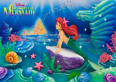 Disney Little Mermaid 3D Lenticular Greeting Card - 3D Postcard