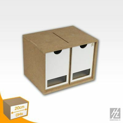 Hobby Zone - MWS - Drawer Module x 2 (Drawers Module x 2) - NEW - OMs01b
