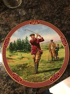 "Royal Worcester, Golfing Collection ""The Fairway"""