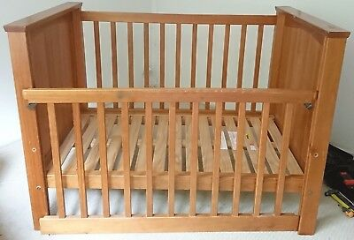 Touchwood Solid Pine Timber Cot