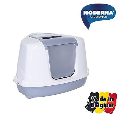 Moderna Flip Cat Litter Box Corner Made in Belgium Free Shipping
