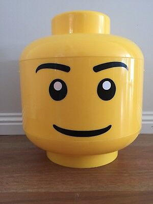Lego Head Store Storage Container Large