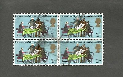 International Cooperative Alliance Q, Elizabeth 11 Block of 4, (#349) P15X14