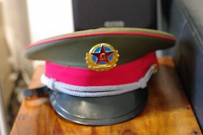 chinese officers cap, very good condition
