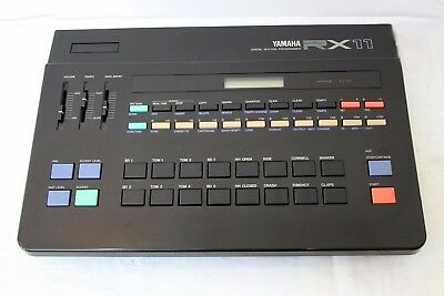 Yamaha RX 11 - Classic '80s Drum Machine in Full Working Order with Manual