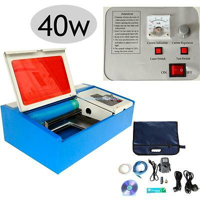 40W 300*200MM CO2 USB Port Laser Engraver Cutter Engraving Cutting Machine