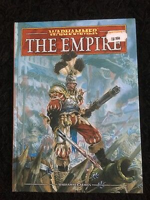 Warhammer 8th Edition THE EMPIRE Hardback Army Book, NEW & UNUSED