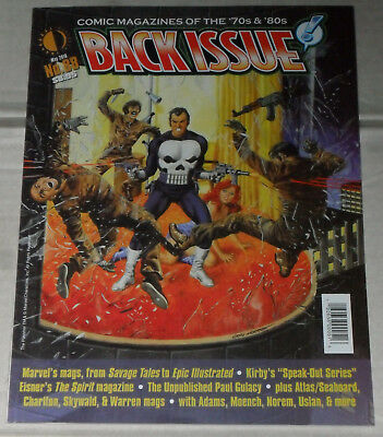 Back Issue (Two Morrows) Nr. 88 *MARVEL MAGAZINE* 2016