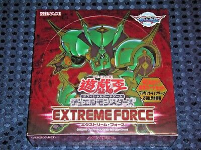 NEW YuGiOh! VRAINS OCG EXTREME FORCE BOX Excode Talker Japanese KONAMI JAPAN F/S