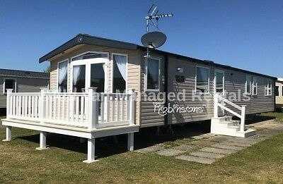OCT HALF-TERM: PRESTHAVEN BEACH: Prestatyn: 2017-PRESTIGE: 3-bed, (7-berth)