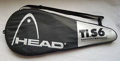 Head Ti.S6 XTRALONG Tennis Racket with Case - Very Good Condition
