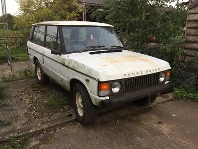 range rover classic 2 door 3.5 v8 manual project barn find land rover