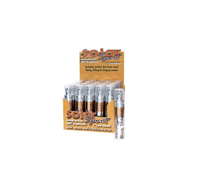 INSECT REPELLENT x4 Mosquito BITING & stings BUG SHIELD by SOLARSPORT x4