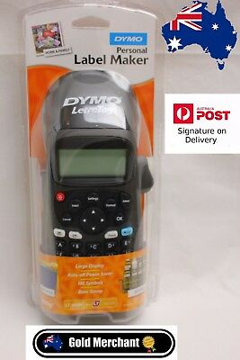 DYMO LetraTag Personal Label Maker black limited edition Brand New