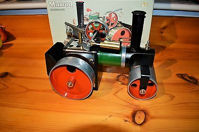 MAMOD LIVE STEAM S.R.1A STEAM ROLLER IN Very GOOD CONDITION WITH BOX