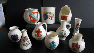 Small Collection Of Goss China