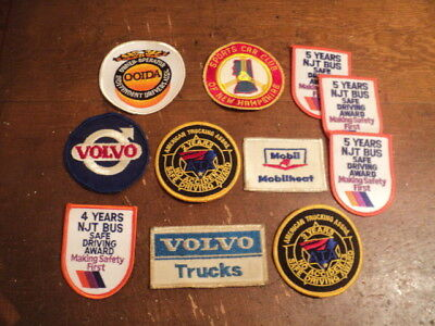 LARGE Lot Patches, Mobil, Volvo, Driving, Trucking