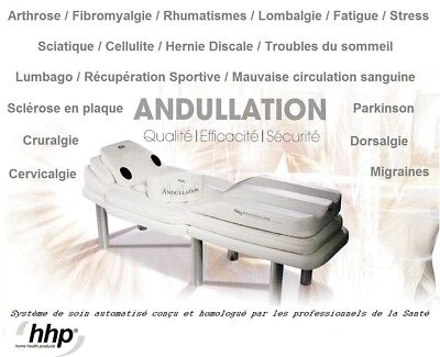 Matelas de massages + support HHP Andumedic France - Equipement complet + Notice