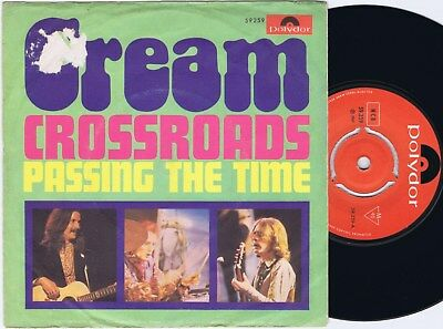 CREAM Crossroads The Time Norwegian 45PS 1969
