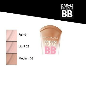 Maybelline Dream Fresh 8 in1 BB Cream - 2 Shades Available