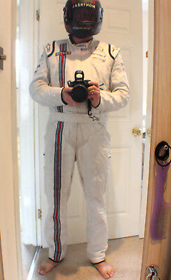 Williams Martini Race Alpine Stars Fire Proof Pit/driver Suit Formula One F1