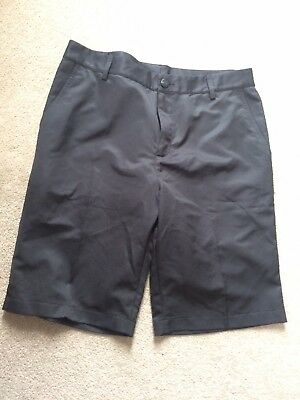 Adidas Black Climalite Golf Shorts New Size 32 Mens