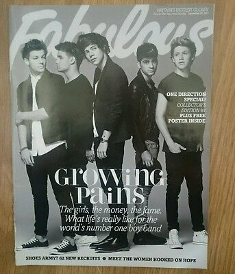 1D Fabulous One Direction Souvenir Magazine with all boys and Poster inside