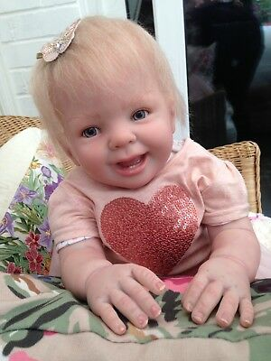 REALISTIC REBORN BABY Lilly from Donna Rubert's Ladybug