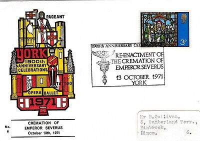 Collection 7 x covers 1900 Anniversary of the founding of the city of York 71AD