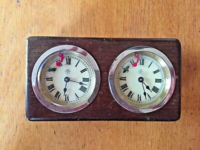 Vintage Analog Competition Junghans Chess Clock Schachuhr Germany Deutschland
