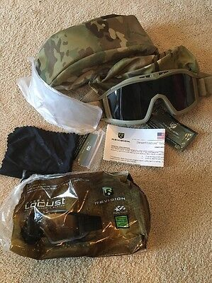 BRAND NEW Revision Desert Locust goggles US military protective Goggles