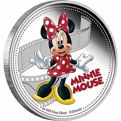 Minnie Mouse 2014- $2 Mickey & Friends 1 Oz Silver Proof Coin