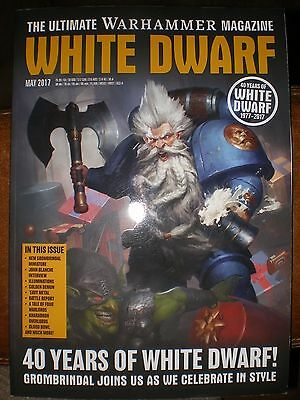 White Dwarf magazine May 2017 Warhammer Games Workshop